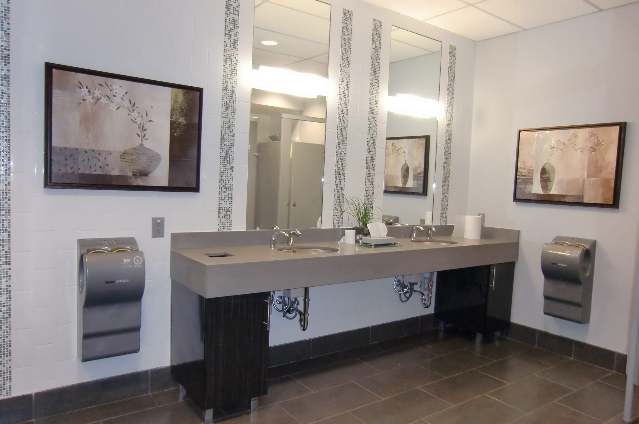 Construction Renovation office washroom Vancouver